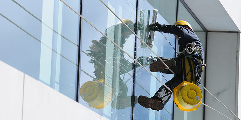 commercial window cleaning cyprus